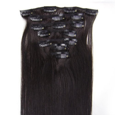 Straight Remy Human Hair Extensions 24 Colors for Your Choose in 15inch ,18inch ,20inch ,22inch ,Beauty Salon Women's Accessories