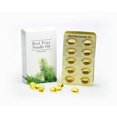 Optimally Organic Red Pine Needle Oil Capsules 30 Vegan Caps