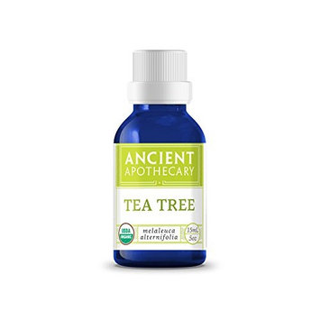 Ancient Apothecary Certified Organic and Therapeutic Grade Tea Tree Essential Oil, 15 ml