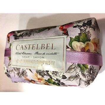 Castelbel Violet Blossom Savon Luxury Bath Soap Hummingbird Garden Hand Wrapped in Portugal 10.5 Ounce Bar