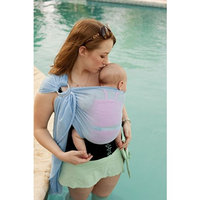 Beachfront Baby Sling – Versatile Water & Warm Weather Ring Sling Baby Carrier | Made in USA with Safety Tested Fabric & Aluminum Rings | Lightweight, Quick Dry & Breathable