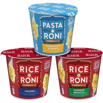 Rice-A-Roni & Pasta Roni Cups Variety Pack, 12 Count