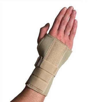 Thermoskin Carpal Tunnel Brace w/ Dorsal Stay-L-Beige-R