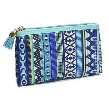 Modella Indigo Hues Collection Cosmetic Purse Kit, Tribal [Purse Kit]
