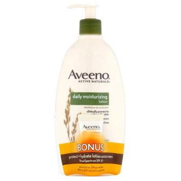 Johnson & Johnson Consumer Inc Aveeno Daily Moisturizing Lotion, Protect + Hydrate Lotion Sunscreen Broad Spectrum SPF 30