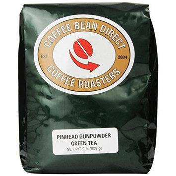 Coffee Bean Direct Pinhead Gunpowder Loose Leaf Tea, 2 Pound Bag