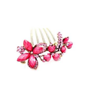 Retro fashion hair jewelry, handmade diamond hairpin/hair comb/hair ornaments YHQ001,colorful