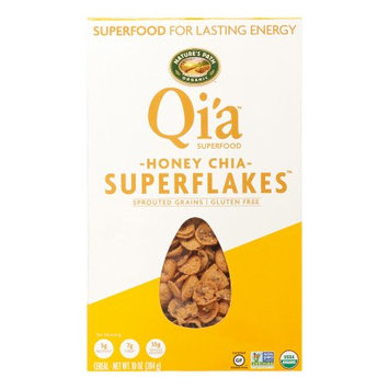 Nature's Path Foods Nature's Path Qia Super Flakes Cereal, Honey Chia, 10 Oz