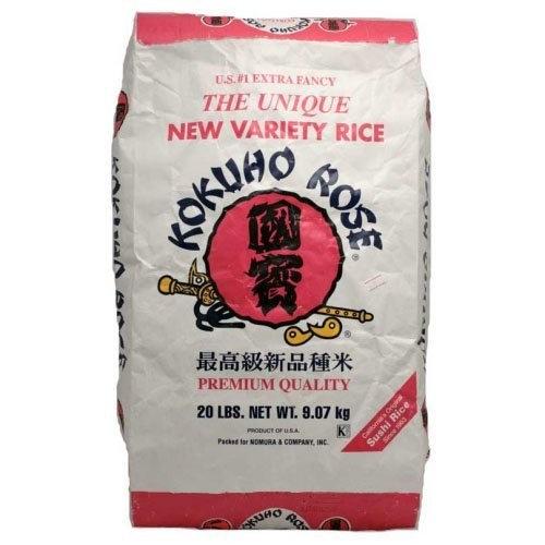 Kokuho Rose Rice, 20-pound