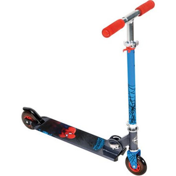 Marvel Ultimate Spider-Man Boysâ Folding Inline Scooter, by Huffy