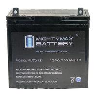 12 Volt 55 AmpH SLA MX-12600 Replacement Battery