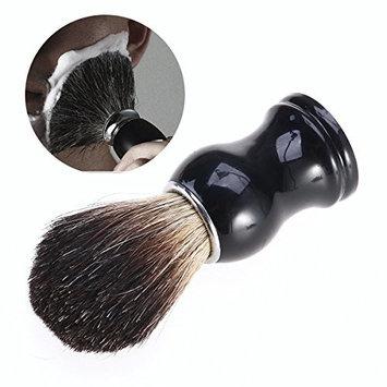 ROSENICE Beard Mustache Cleaning Badger Hair Shaving Brush Grooming Shaving Tool