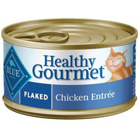 Blue Buffalo Healthy Gourmet Fluidaked Chicken Adult Canned Cat Food, 5.5 Ounce