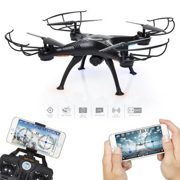 Sky 4 Channel 6-Axis Gyro Headless Remote Control Quadcopter FPV RC Drone W/ Wifi Camera For Real Time Video 2 Control Mode