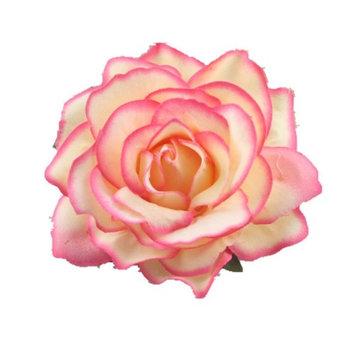 Hair Barrettes,WuyiMC Cute Girls' Rose Flower Hair Clips Flamenco Dancer Pin up Flower Brooch