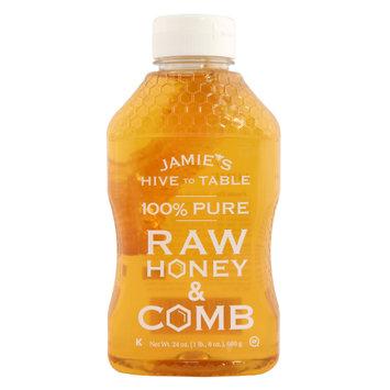 Fhca Llc Jamie's Hive to Table - 100% Pure Honey & Comb 24oz