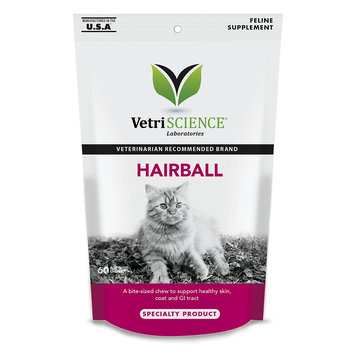Vetri-Science Laboratories Hairball Digestive Support Soft Chews