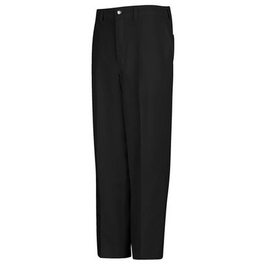 Chef Designs Cook Pant with Zipper Fly - Black