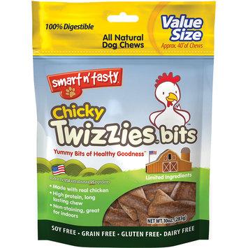 Smart N' Tasty Smart N Tasty Chicky Twizzies Bits - Chicken - 10 Oz.