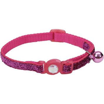 Safe Cat Collars Safe Cat Jeweled Adjustable Breakaway Cat Collar - Pi