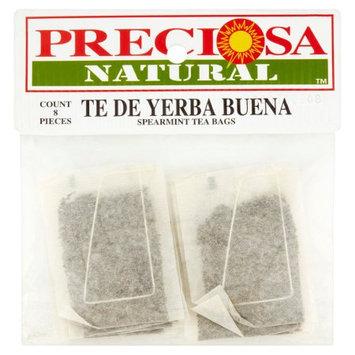 Proveedora De Alimentos Del Pacifico Y Cia Preciosa Natural Spearmint Tea Bags, 8 count