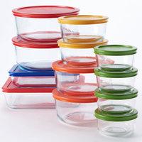 Pyrex 24-pc. Storage Set with Color Lids, Multicolor