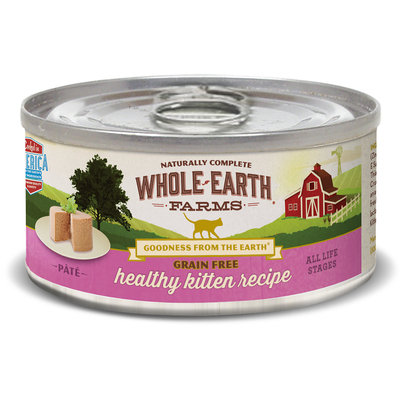 Whole Earth Farms Grain Free Real Healthy Kitten Recipe, 5 OZ