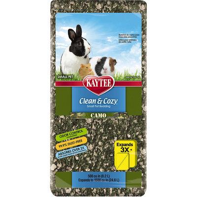 Kaytee Clean & Cozy Camo Small Animal Bedding, 500 cu in
