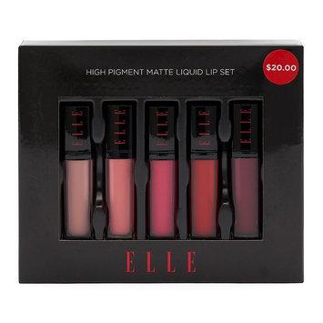 ELLE Beauty 5-pc. Matte Lip Gloss Set, Multicolor