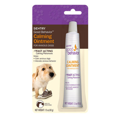 SENTRY Good Behavior Calming Ointment for Anxious Dogs, 1.5 oz