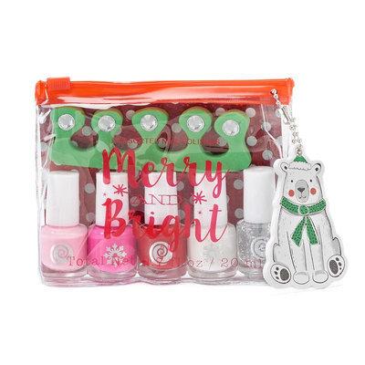 Simple Pleasures Candy Christmas Mini Nail Polish Gift Set, Ovrfl Oth