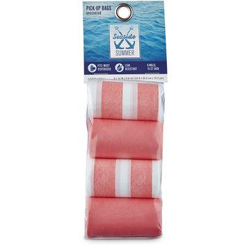 Seaside Summer Coral Stripe Dog Waste Bag Refills, 120 CT