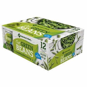 Member's Mark 12 Piece Cut Green Beans, 174 Ounce