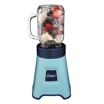 Oster Fresh+Blend N Go Mason Jar Blender in Blue