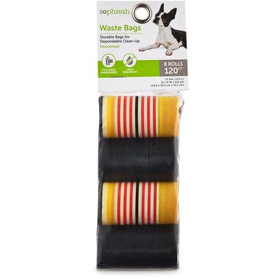 So Phresh Striped Dog Waste Bag Refills, 120 CT