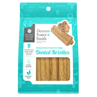 Drs. Foster And Smith Doctors Foster + Smith Small Dental Bristles Dog Treats