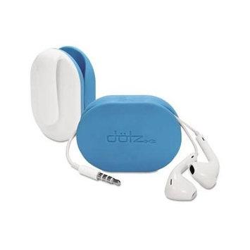 Paris FXW37MCC Dotz Flex Earbud Wrap, Cyan