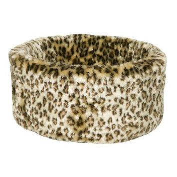 Danish Design Cosy Cat Bed, Small, 42 cm, Leopard
