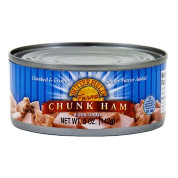 Butterfield Farms Chunk Ham with Water Added, 5 oz