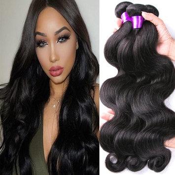 YoungFace 8A Grade Brazilian Hair Body Wave 4 Bundles 100% Unprocessed Virgin Human Hair Extensions 100g/pc Natural Color