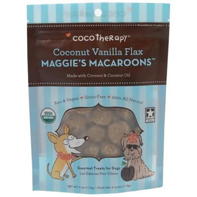 Coco Therapy, Coco Lemoncello Macaroons, 4oz pouch