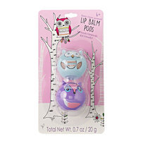 Simple Pleasures 2-pk. Berry Frost Owl & Fox Lip Balm Critter Pods, Other Clrs
