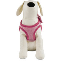 Bond & Co. Pink Bow Small Dog Harness, XS, X-Small