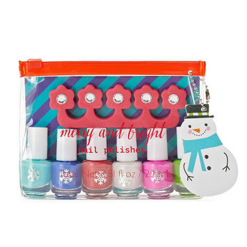 Simple Pleasures 6-pc. Merry & Bright Snowman Nail Polish Gift Set, Multicolor