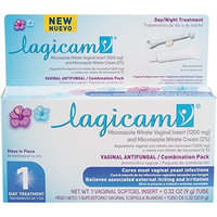 LAGICAM 1 Day Vaginal Antifungal Combination Pack, 0.32 Ounce