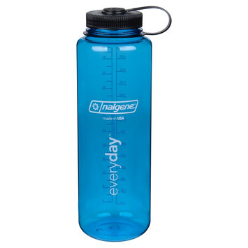 Nalgene Water Bottle Wide Mouth 48 oz - Blue
