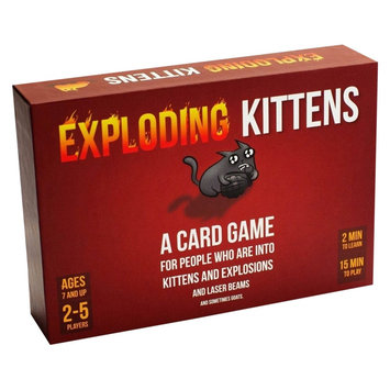 Publisher Services Exploding Kittens, Card Games