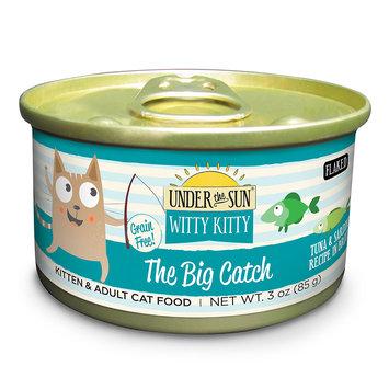 Under The Sun Witty Kitty The Big Catch Tuna & Sardine Recipe Wet Cat Food, 3 oz, Case of 24