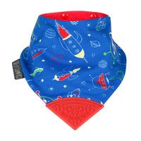 Kalencom Cheeky Chompers Neckerchew 2-in-1 Teething Bandana - Space Rockers
