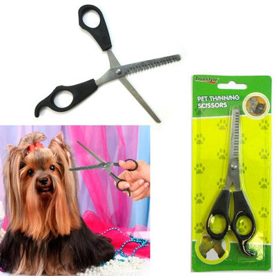Atb Pet Thinning Shears 6 Professional Scissors Toothed Grooming Hair Fur Dog Puppy